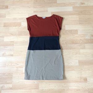 Velvet Torch Colorblock Dress